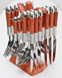 """Stalo įrankiai su stovu """"Šaka"""""""