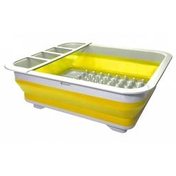 Sulankstoma indų ir įrankių džiovyklė geltona