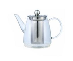 Stiklinis arbatinukas arbatai plikyti 600ml.