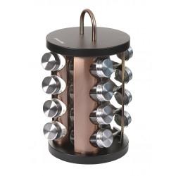 Prieskoninė metalinė ruda ovali 16vnt.