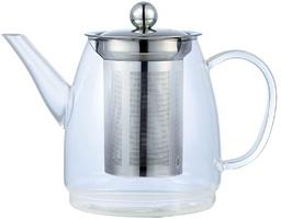 Stiklinis arbatinukas arbatai plikyti 900ml.